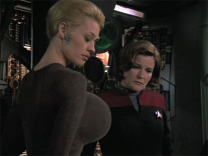 seven of nine be 1