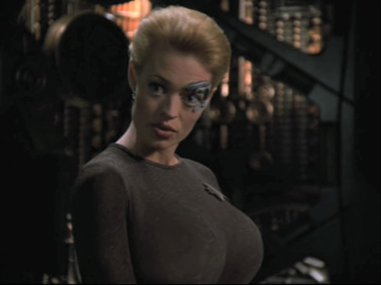 seven of nine be 6